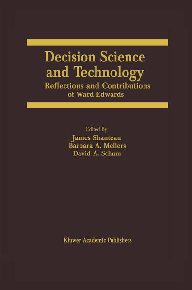 Decision Science and Technology - Coverbild