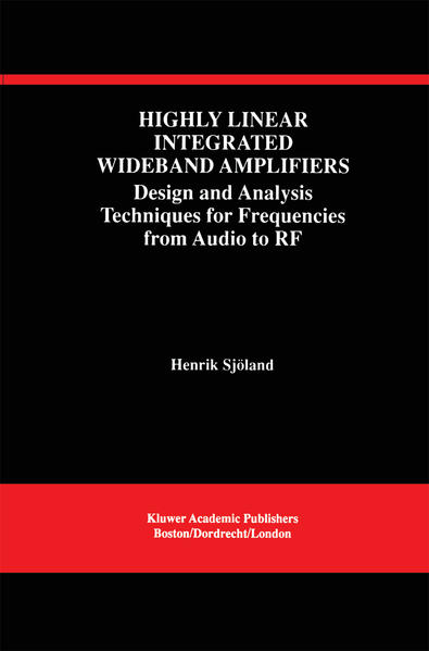 Highly Linear Integrated Wideband Amplifiers - Coverbild