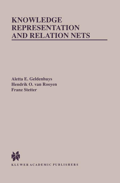 Knowledge Representation and Relation Nets - Coverbild