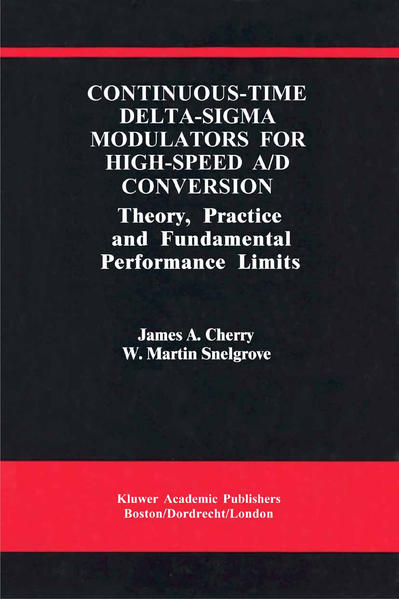 Continuous-Time Delta-Sigma Modulators for High-Speed A/D Conversion - Coverbild