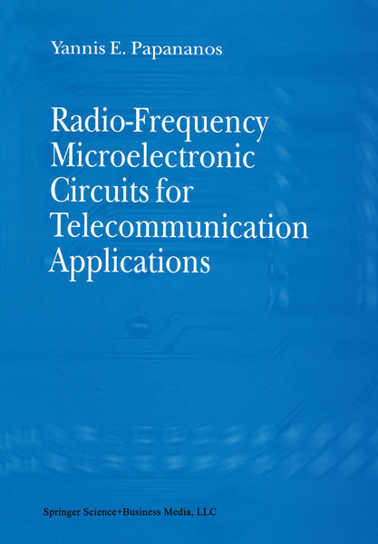 Radio-Frequency Microelectronic Circuits for Telecommunication Applications - Coverbild
