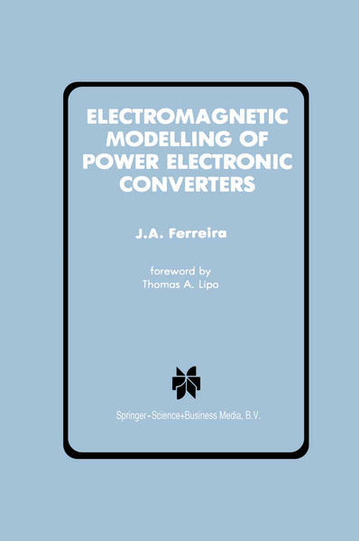 Electromagnetic Modelling of Power Electronic Converters - Coverbild