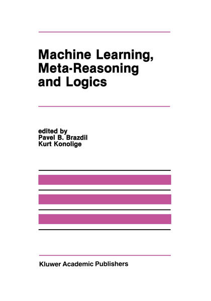 Machine Learning, Meta-Reasoning and Logics - Coverbild