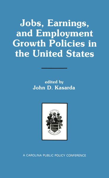 Jobs, Earnings, and Employment Growth Policies in the United States - Coverbild