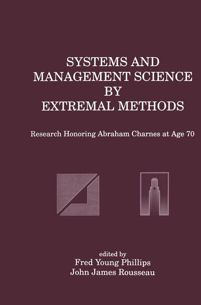 Systems and Management Science by Extremal Methods - Coverbild