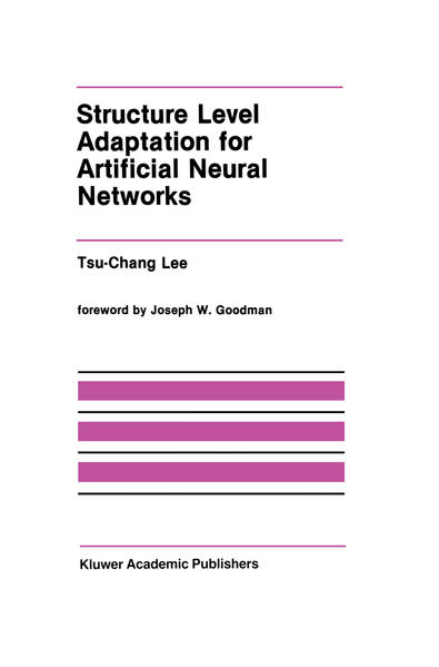 Structure Level Adaptation for Artificial Neural Networks - Coverbild