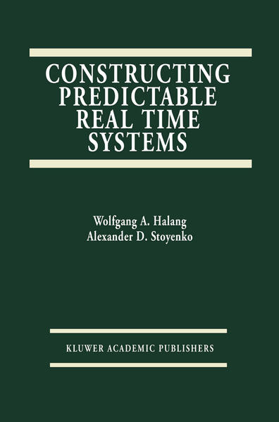Constructing Predictable Real Time Systems - Coverbild