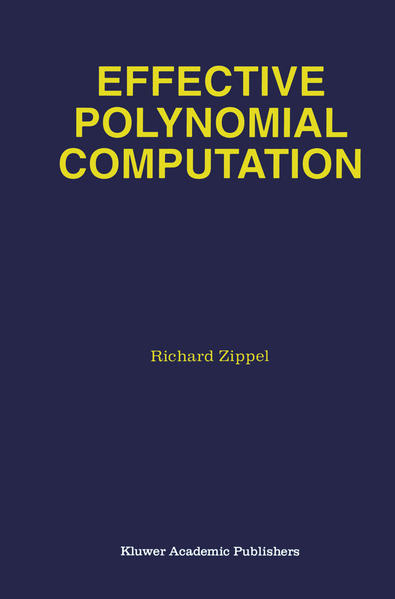 Effective Polynomial Computation - Coverbild