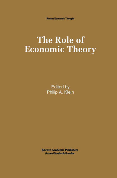 The Role of Economic Theory - Coverbild