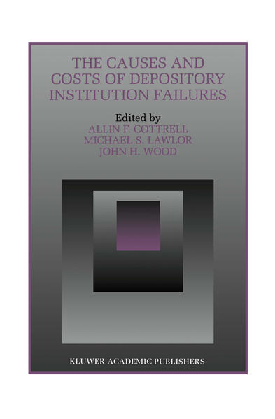 The Causes and Costs of Depository Institution Failures - Coverbild