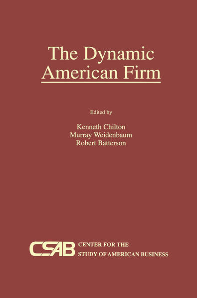 The Dynamic American Firm - Coverbild