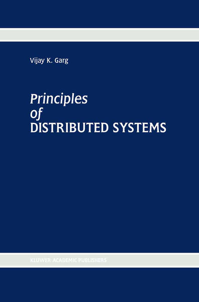 Principles of Distributed Systems - Coverbild