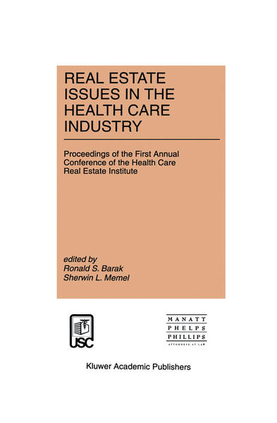 Real Estate Issues in the Health Care Industry - Coverbild