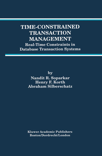 Time-Constrained Transaction Management - Coverbild