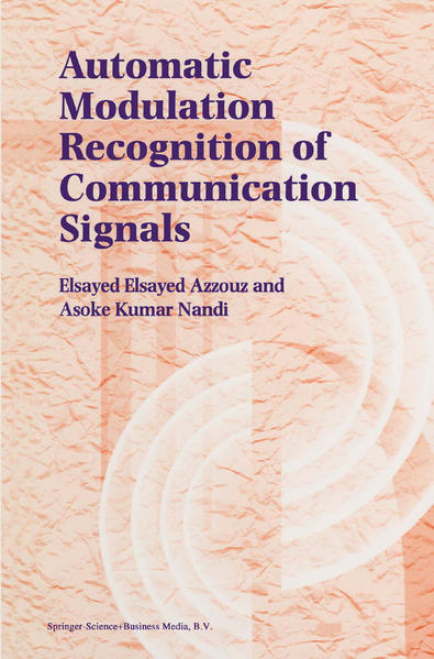 Automatic Modulation Recognition of Communication Signals - Coverbild
