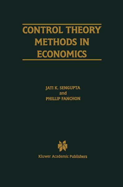 Control Theory Methods in Economics - Coverbild