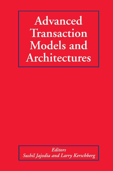 Advanced Transaction Models and Architectures - Coverbild