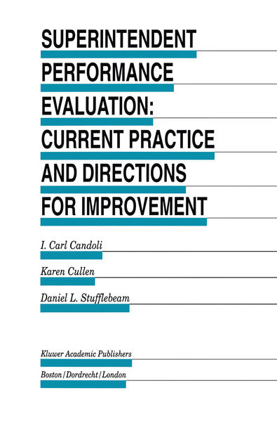 Superintendent Performance Evaluation: Current Practice and Directions for Improvement - Coverbild