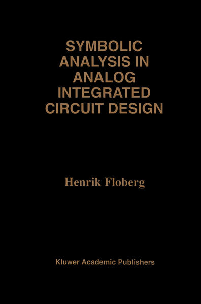 Symbolic Analysis in Analog Integrated Circuit Design - Coverbild