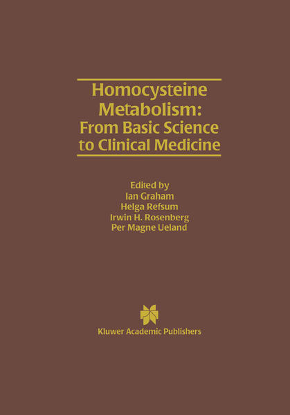 Homocysteine Metabolism: From Basic Science to Clinical Medicine - Coverbild