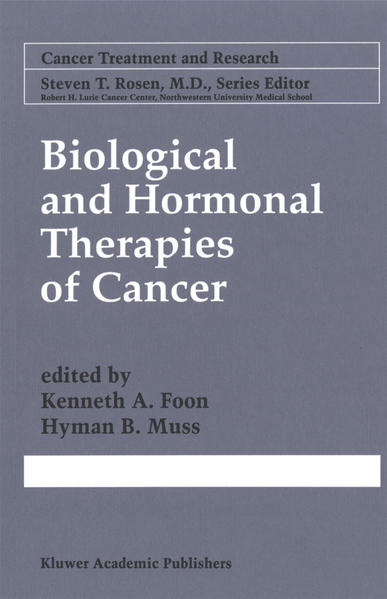 Biological and Hormonal Therapies of Cancer - Coverbild