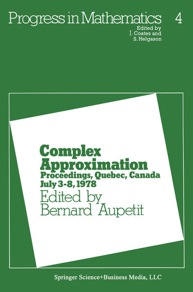 Complex Approximation - Coverbild