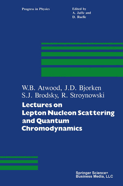 Lectures on Lepton Nucleon Scattering and Quantum Chromodynamics - Coverbild