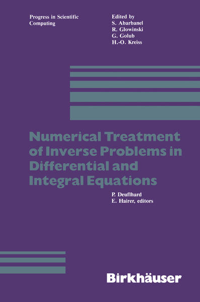 Numerical Treatment of Inverse Problems in Differential and Integral Equations - Coverbild