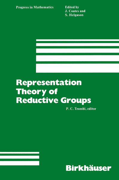 Representation Theory of Reductive Groups - Coverbild