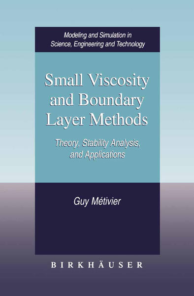 Small Viscosity and Boundary Layer Methods - Coverbild