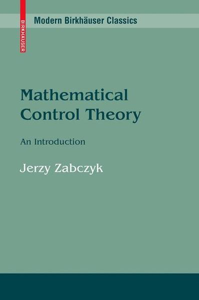 Mathematical Control Theory: An Introduction - Coverbild