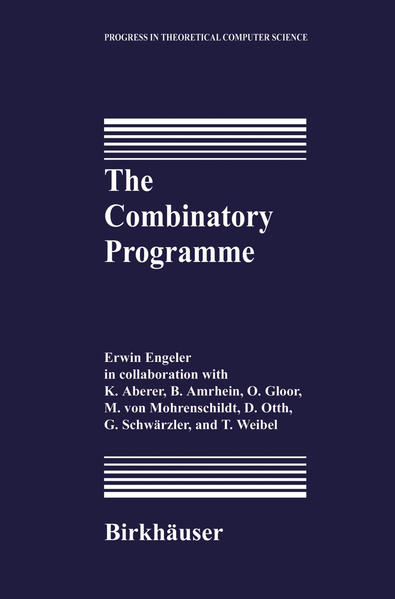 The Combinatory Programme - Coverbild