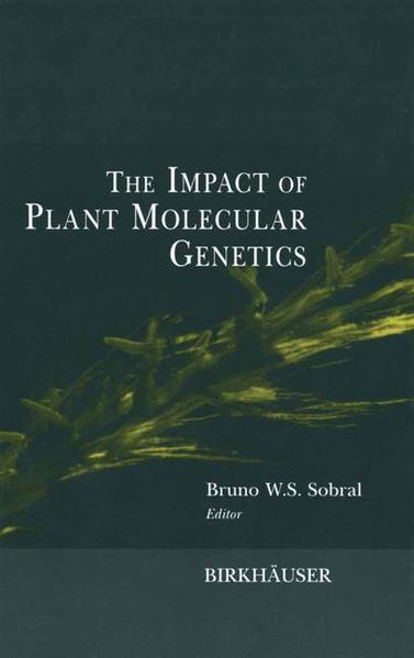 The Impact of Plant Molecular Genetics - Coverbild