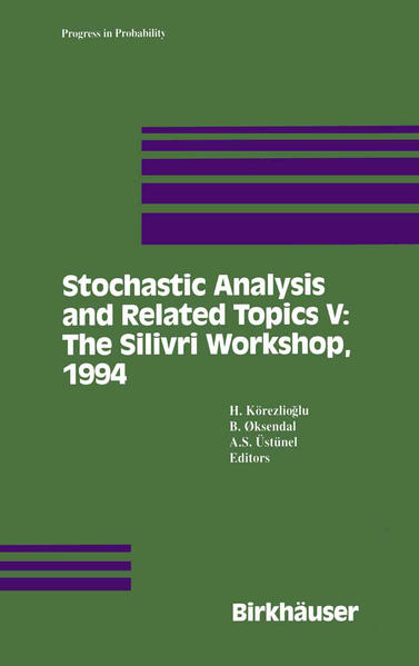 Stochastic Analysis and Related Topics V - Coverbild