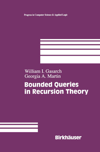 Bounded Queries in Recursion Theory - Coverbild