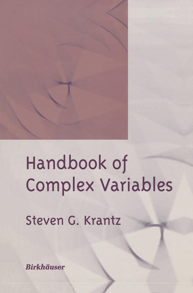 Handbook of Complex Variables - Coverbild