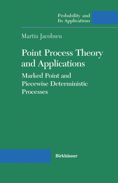 Point Process Theory and Applications - Coverbild