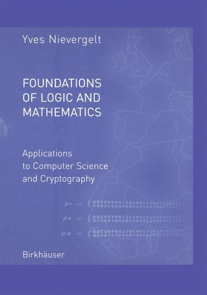 Foundations of Logic and Mathematics - Coverbild
