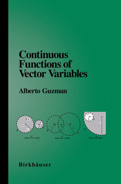 Continuous Functions of Vector Variables - Coverbild