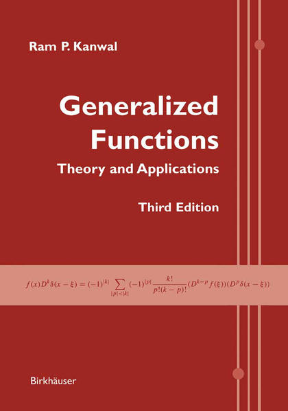Generalized Functions - Coverbild