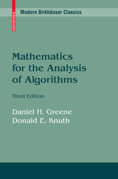 Mathematics for the Analysis of Algorithms - Coverbild