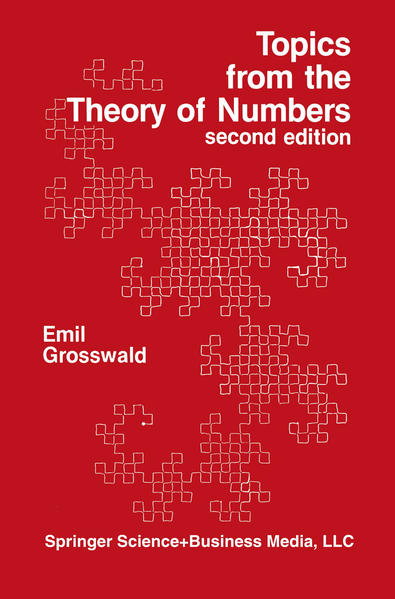 Topics from the Theory of Numbers - Coverbild