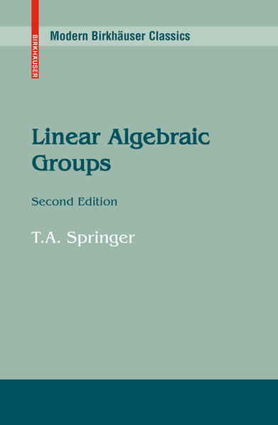 Linear Algebraic Groups - Coverbild