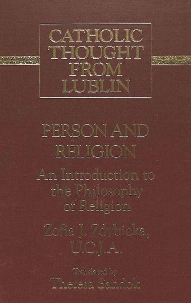 Person and Religion - Coverbild