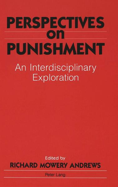 Perspectives on Punishment - Coverbild