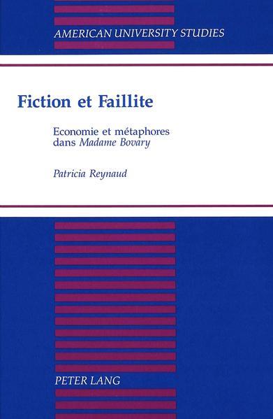 Fiction et faillite - Coverbild