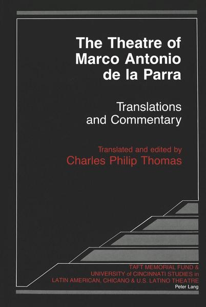 The Theatre of Marco Antonio de la Parra - Coverbild