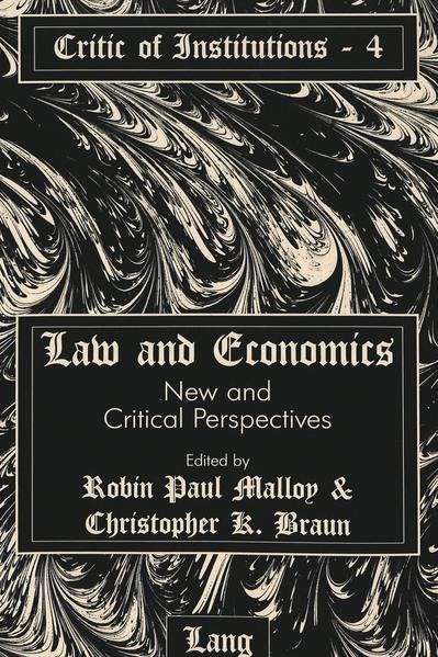 Law and Economics - Coverbild