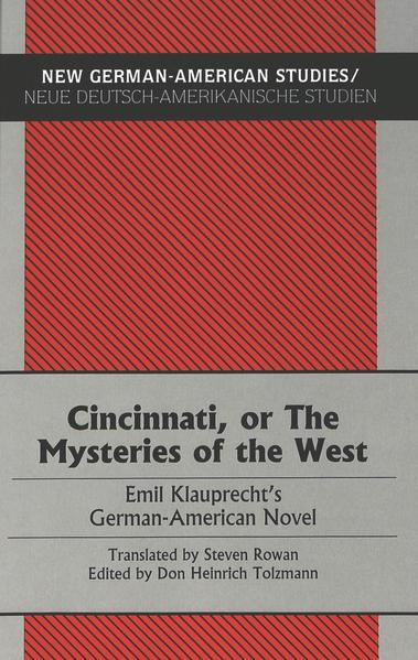 Cincinnati, or The Mysteries of the West - Coverbild