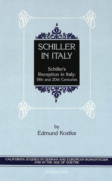 Schiller in Italy - Coverbild